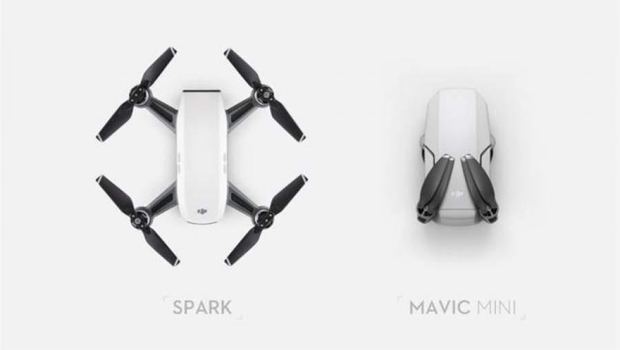 Mavic Mini vs. Spark